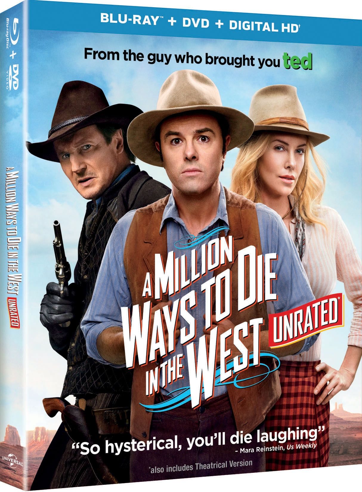 Here are the details on the A Million Ways to Die in the West Unrated ...