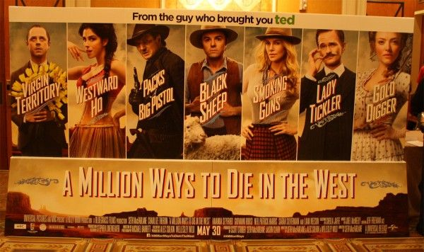 a-million-ways-to-die-in-the-west-theater-standeee