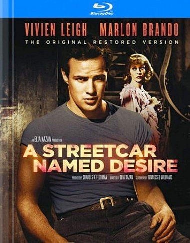 a streetcar named desire blu ray cover