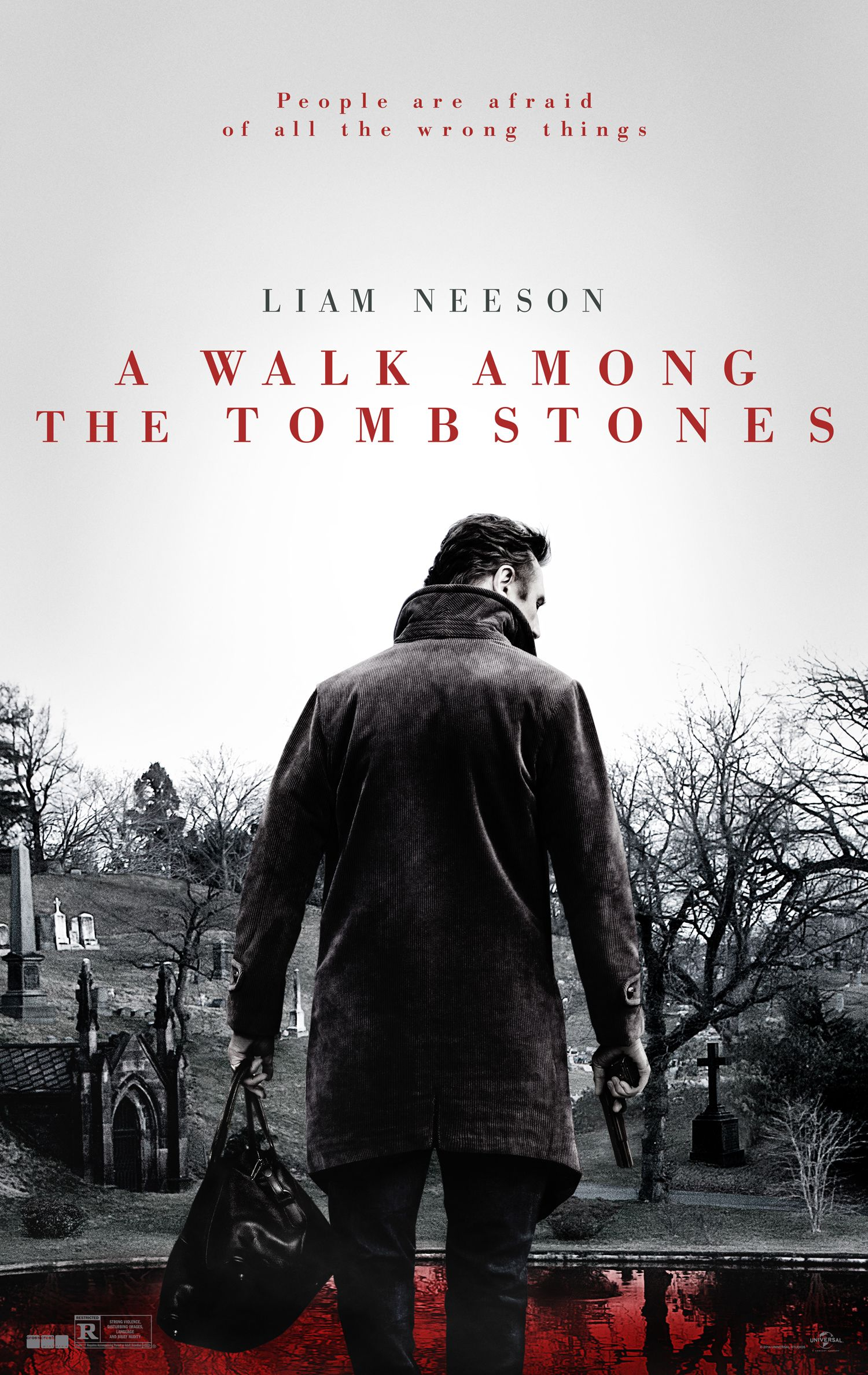 Liam Neeson Interview: A Walk Among the Tombstones | Collider