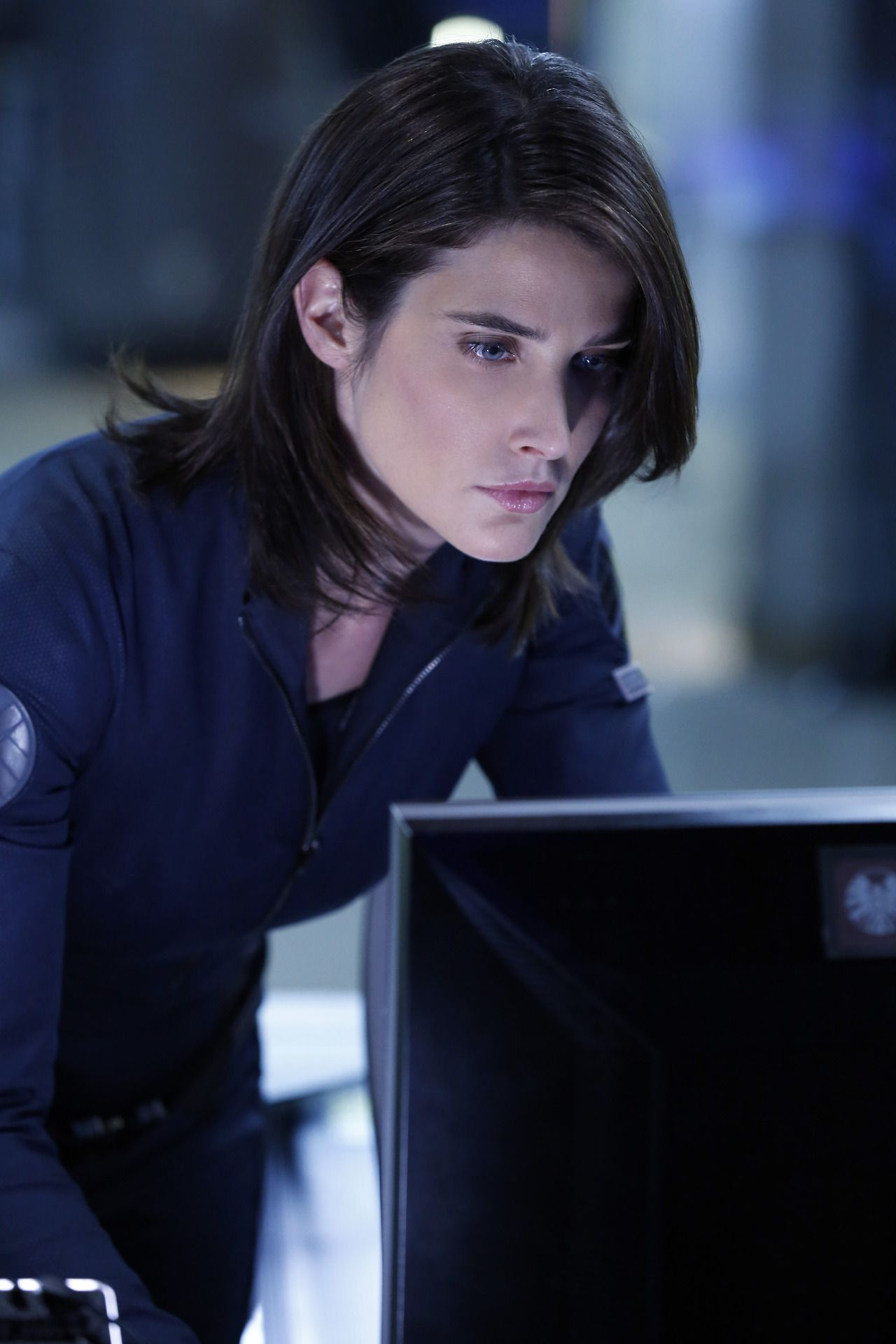 Cobie Smulders shield