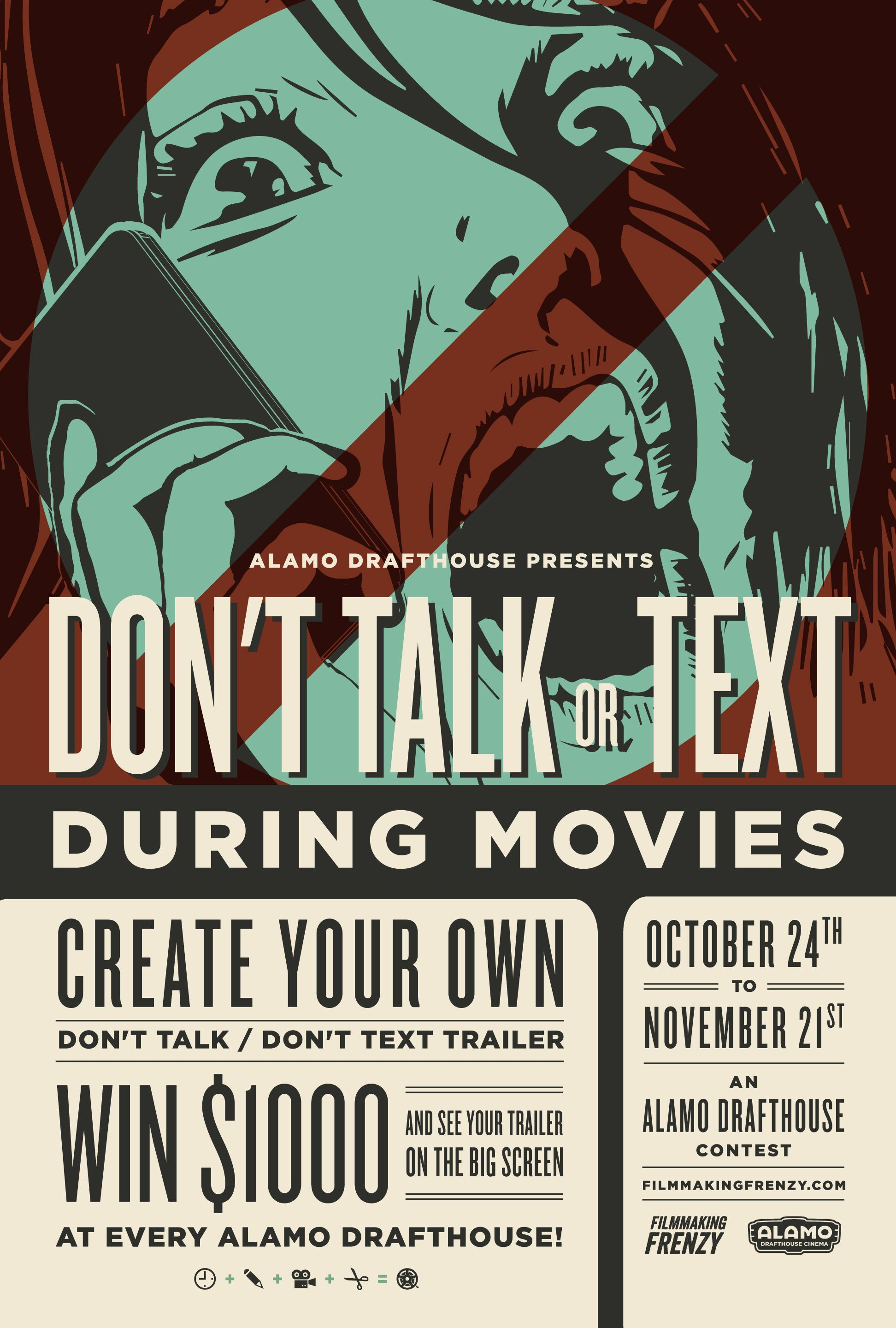 "Alamo Drafthouse Launches ""Don't Talk or Text During ..."