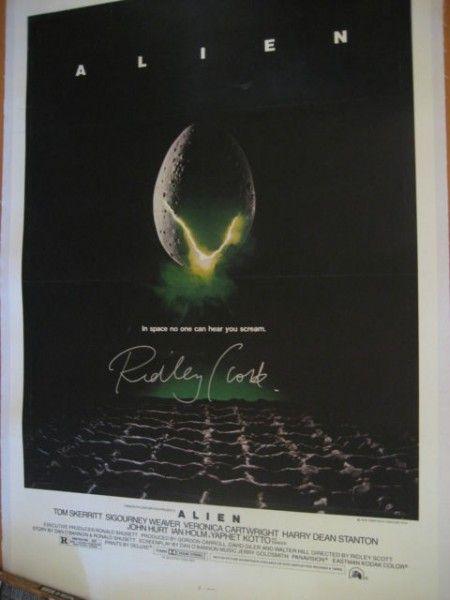alien-movie-poster-ridley-scott-signed