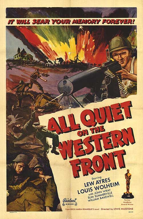 daniel radcliffe to star in all quiet on the western front remake  all quiet on the western front poster