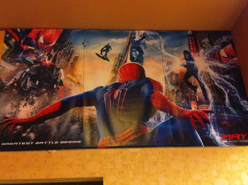 THE AMAZING SPIDER-MAN 2 Poster Possibly Shows Green ...