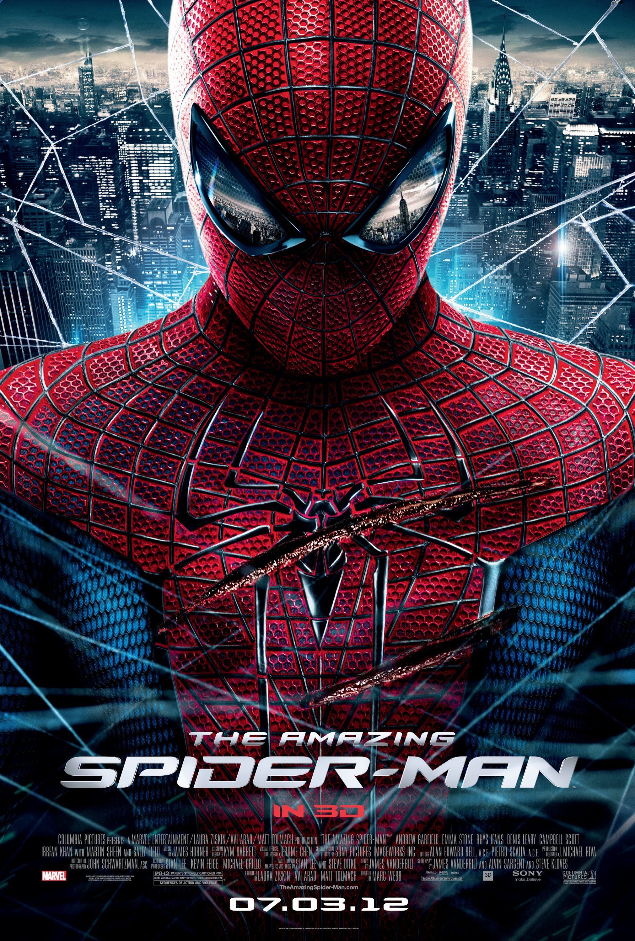 Amazing Spider Man Final Poster