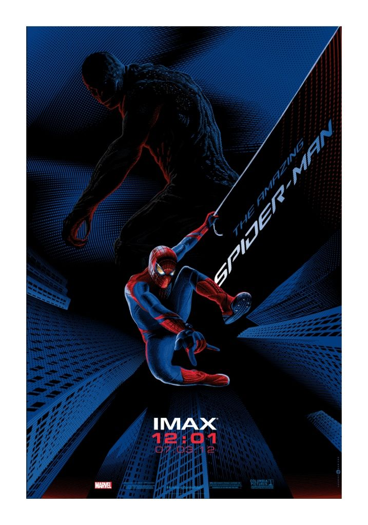 Amazing Spider Man Imax Poster