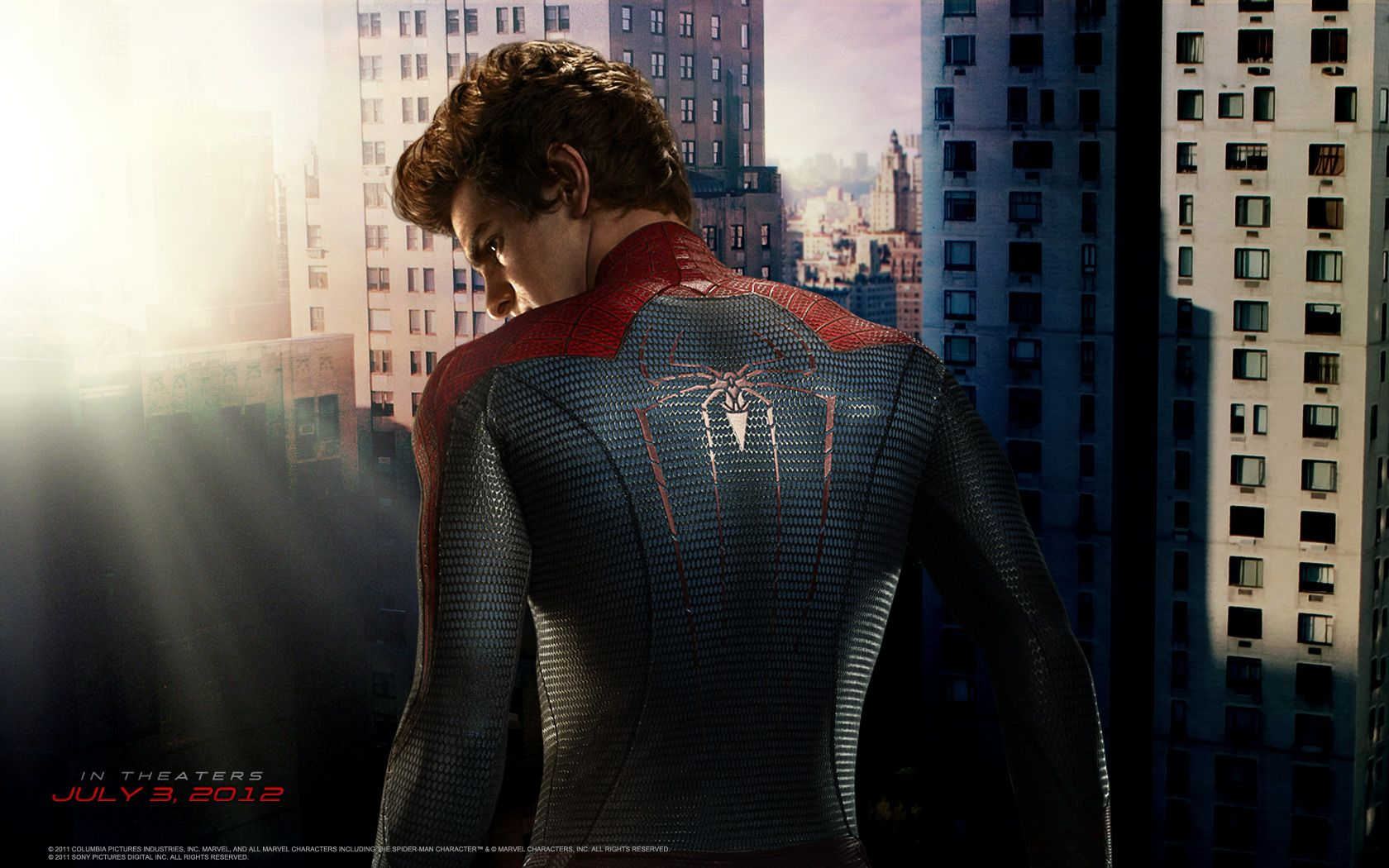 the amazing spider-man movie wallpapers and character bios | collider