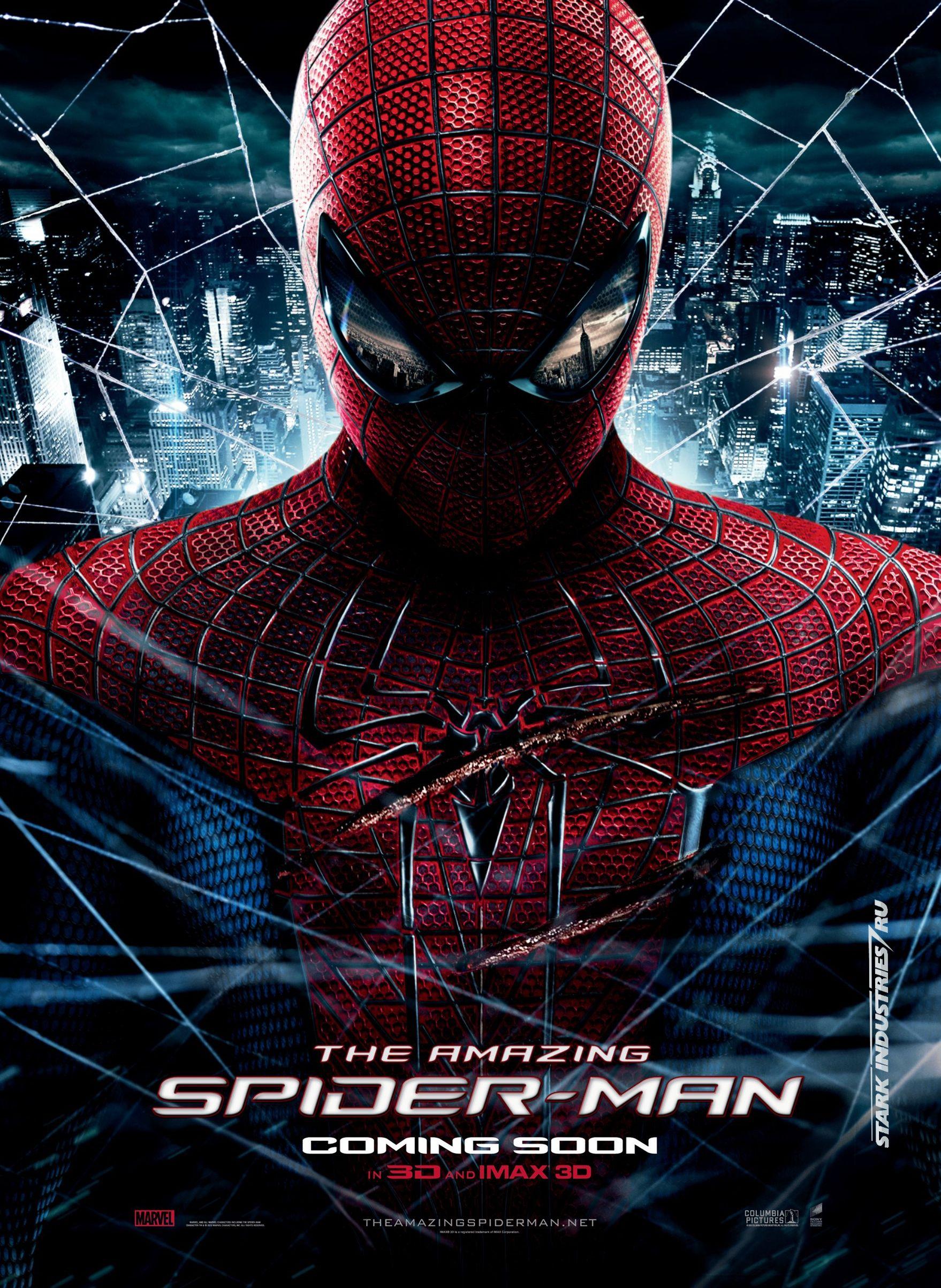 the amazing spider-man movie poster | collider