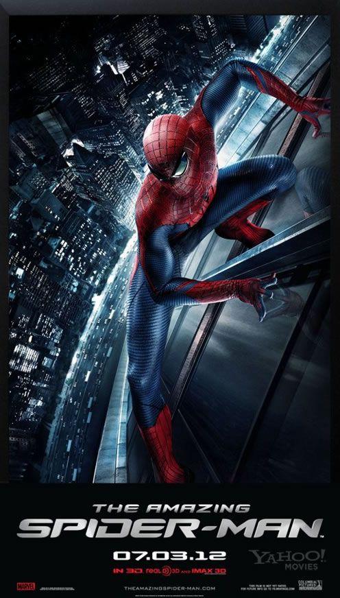 The Amazing Spider Man Movie Poster Collider