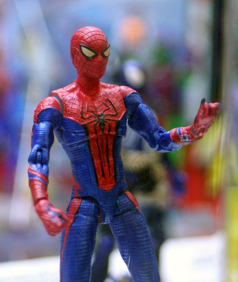 You amazing spider man toys believe