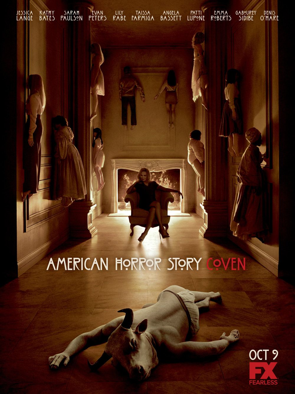 AMERICAN HORROR STORY: COVEN Trailer and Poster. AMERICAN ...