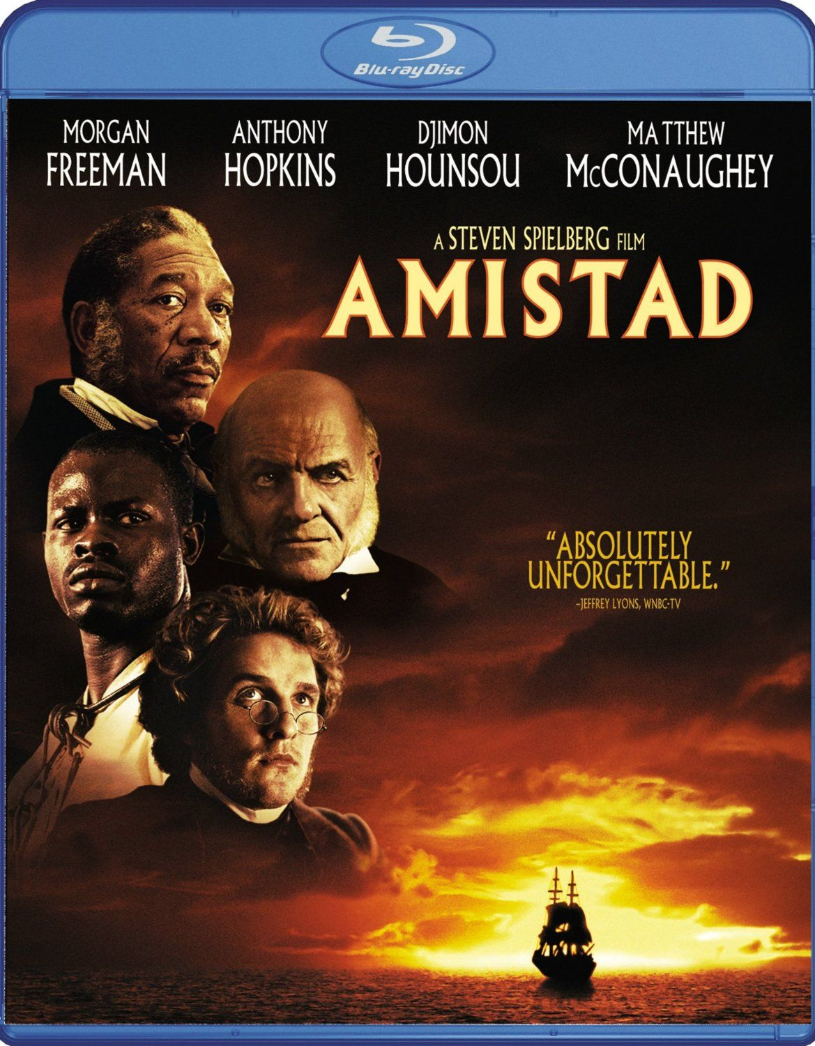 a movie analysis of amistad by steven spielberg Steven married twice  series of scenes edited from the movie amistad directed by steven spielberg nominated for four academy awards in 97.