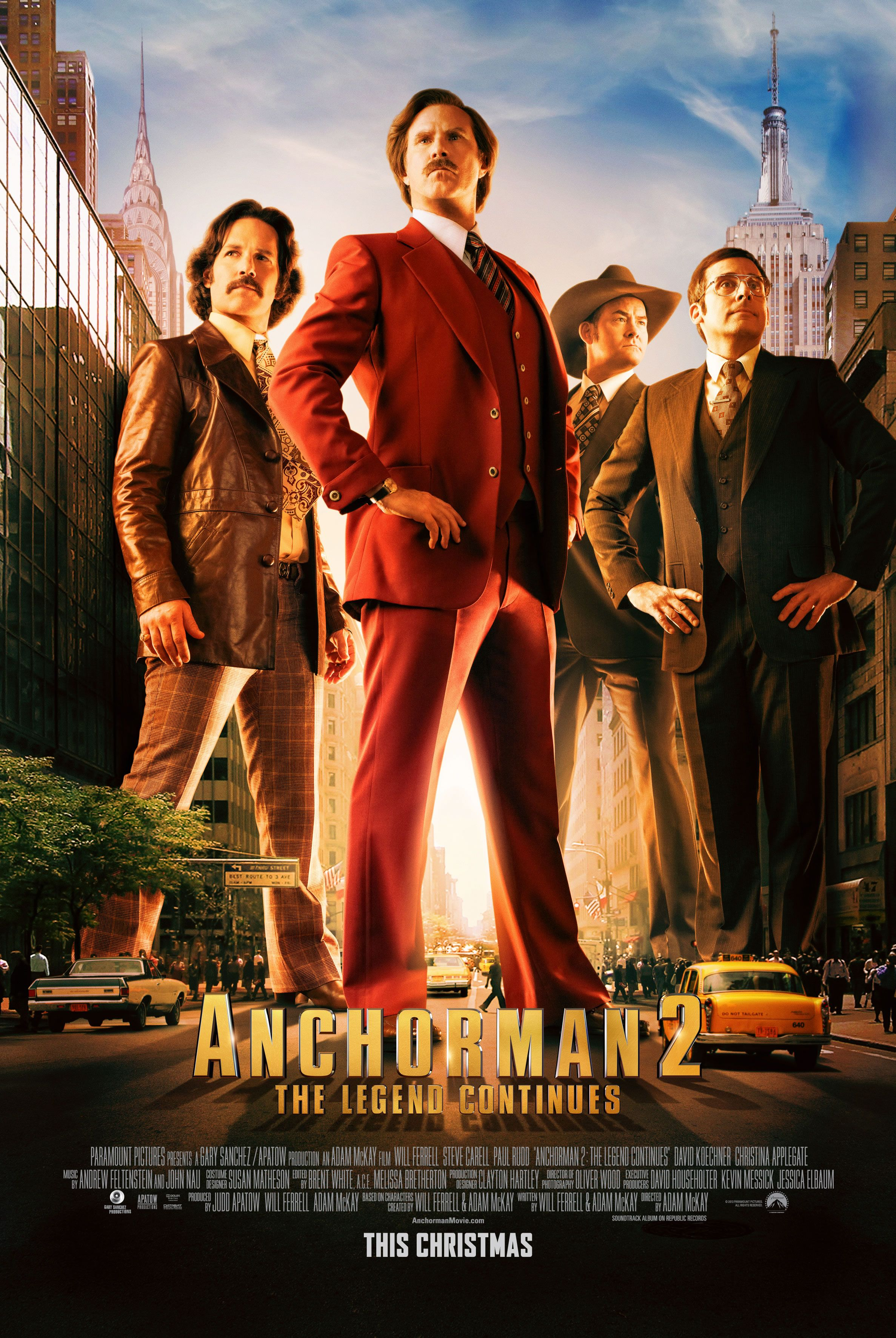 anchorman 2 the legend continues poster anchorman 2