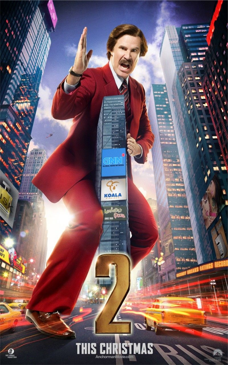 Meagan Good  what s the story  Anchorman 2