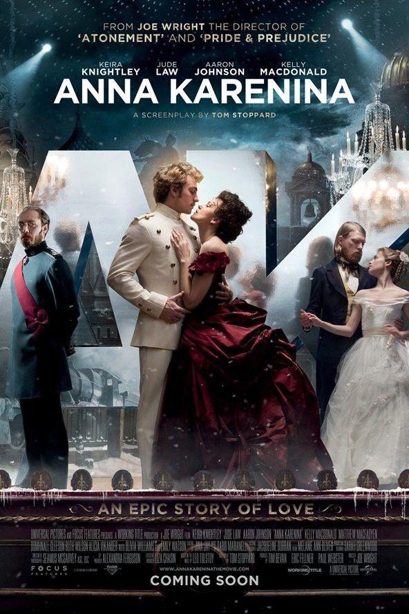anna karenina movie trailer and poster starring keira
