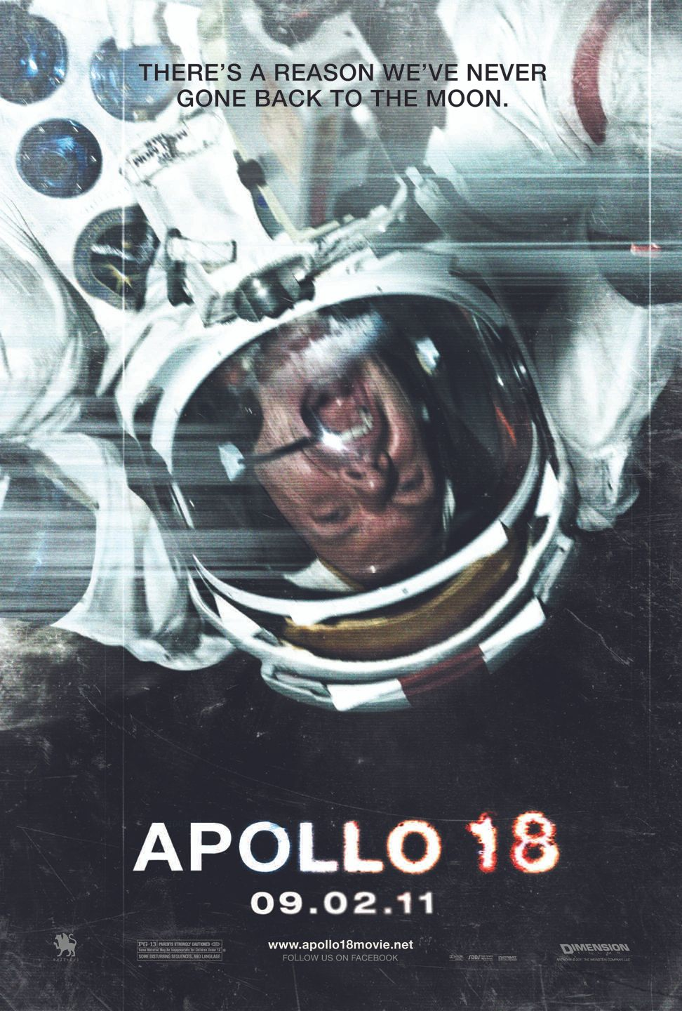 APOLLO 18 Poster; RISE OF THE PLANET OF THE APES Poster ...