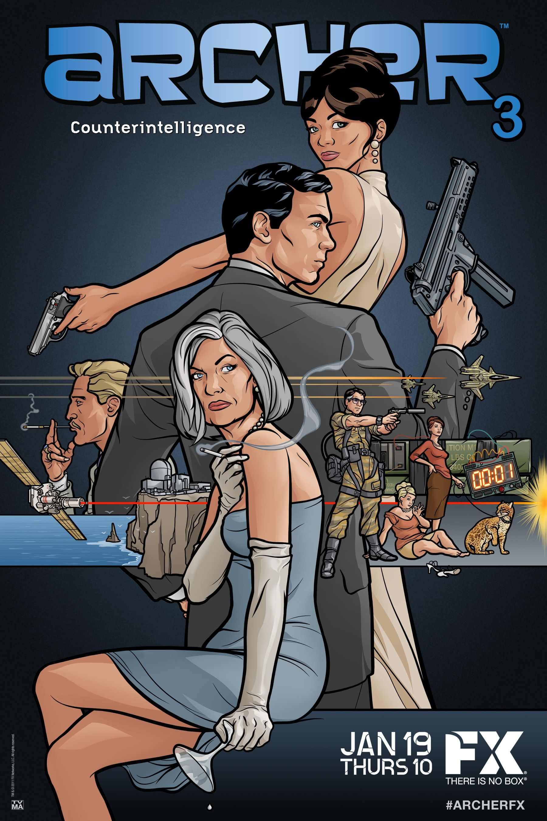 Archer live event recap and archer season 4 preview for Craft shows on tv