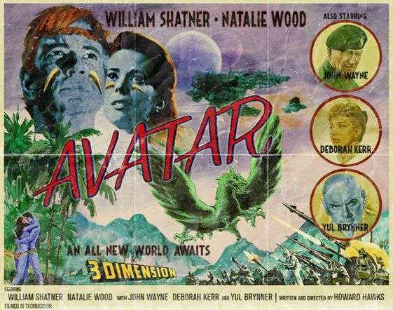 avatar-movie-poster-william-shatner-retro-01
