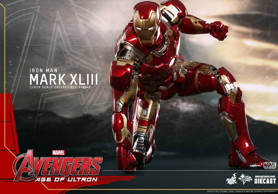 Hot Toys Reveals Avengers: Age of Ultron Iron Man Armor ...