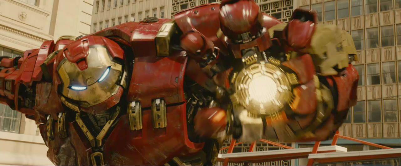 Avengers 2 Trailer Scr...