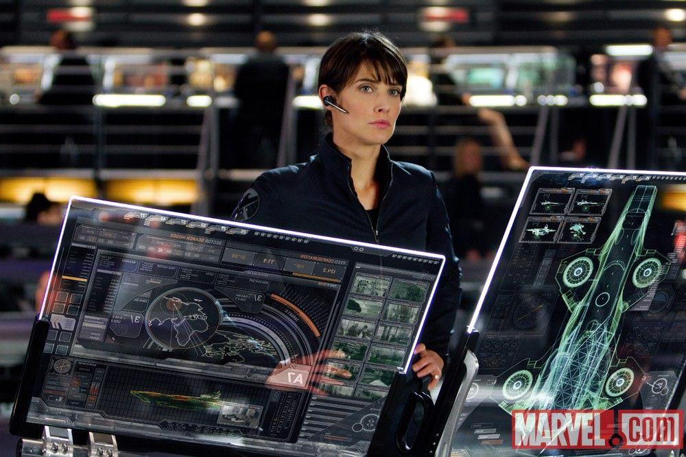Cobie Smulders Maria Hill Avengers