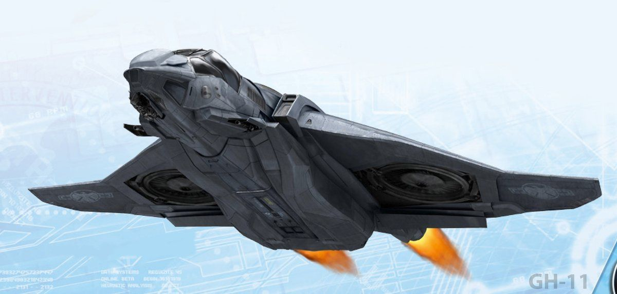 Quinjet Concept Art from THE AVENGERS Movie | Collider  Quinjet Concept...