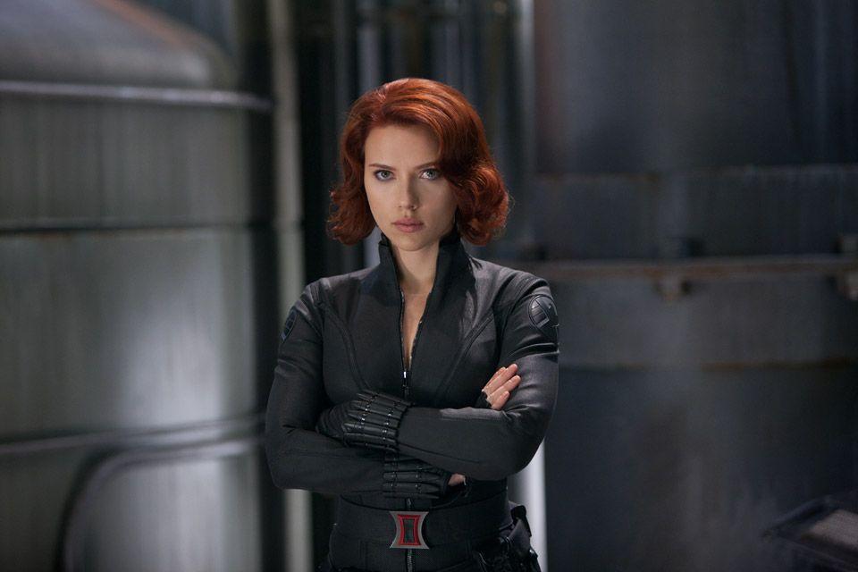 Superheroines Black widow Iron man Scarlett johansson HD
