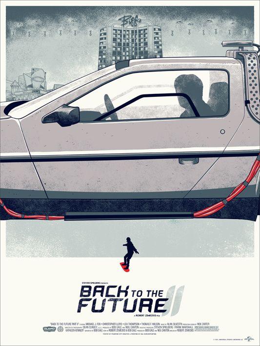 BACK TO THE FUTURE Mondo Poster | Collider