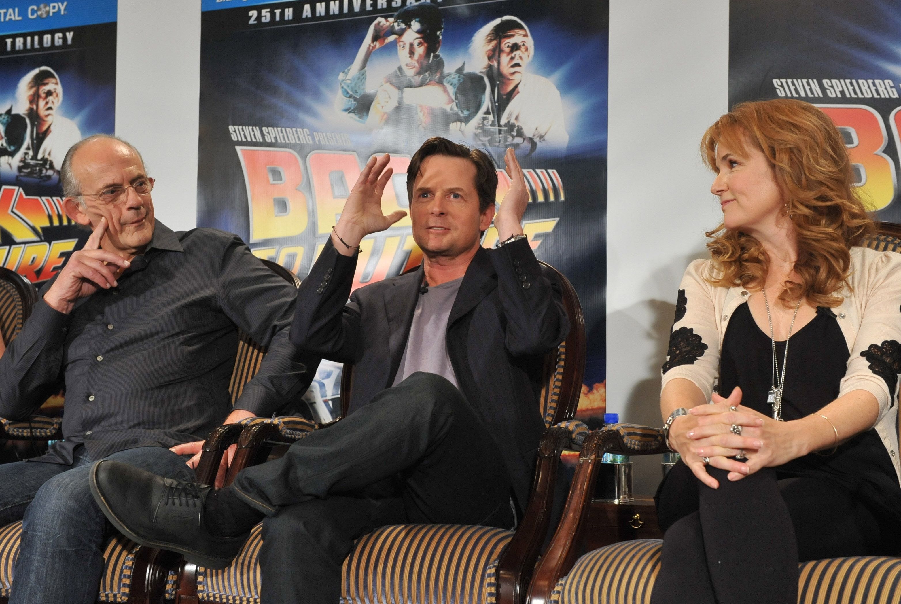 BACK TO THE FUTURE Blu RayDVD Press Conference With
