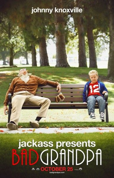 jackass-bad grandpa poster