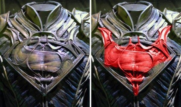 batman logo man of steel costume
