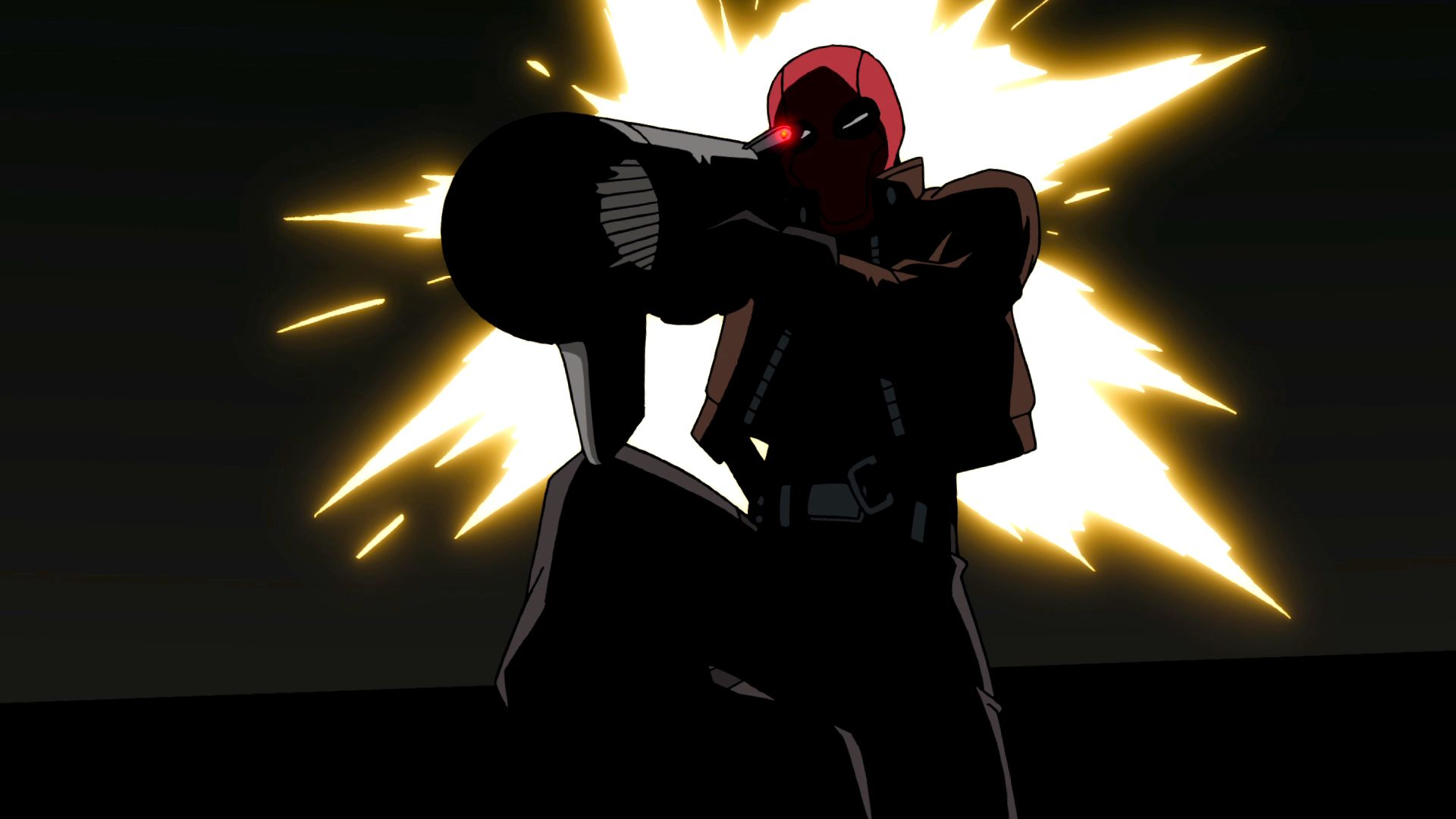Batman Vs Red Hood Wallpaper