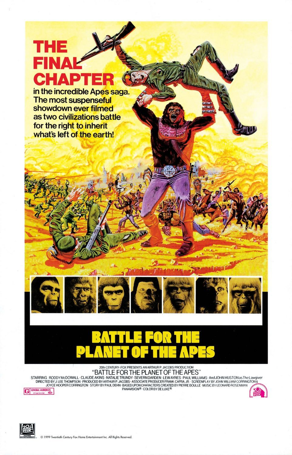Battle For The Planet Of The Apes Review Collider