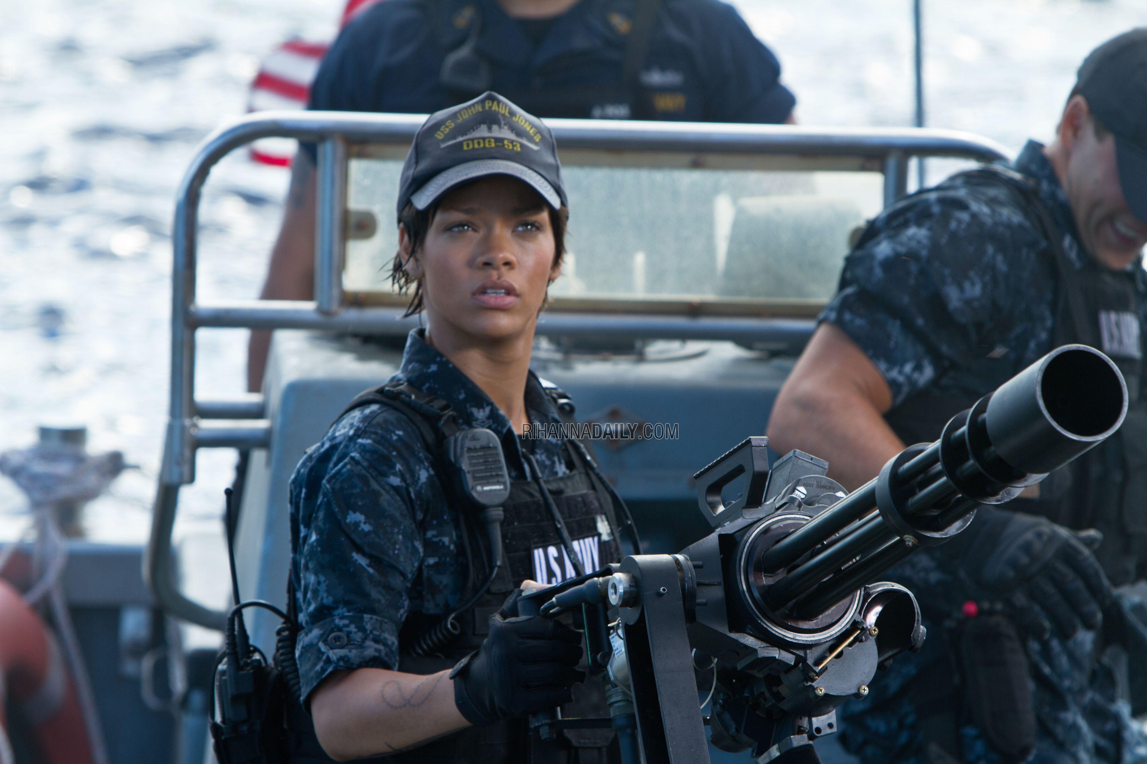 Battleship Movie Image Rihanna Collider