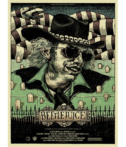 Mondo Posters on Sale Tomorrow for FOUR LIONS, BEETLEJUICE ...