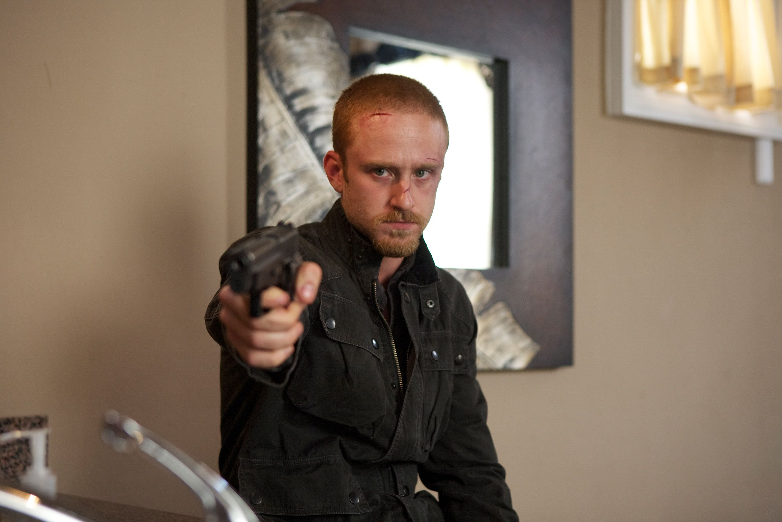ben foster interview the mechanic contraband 360 and