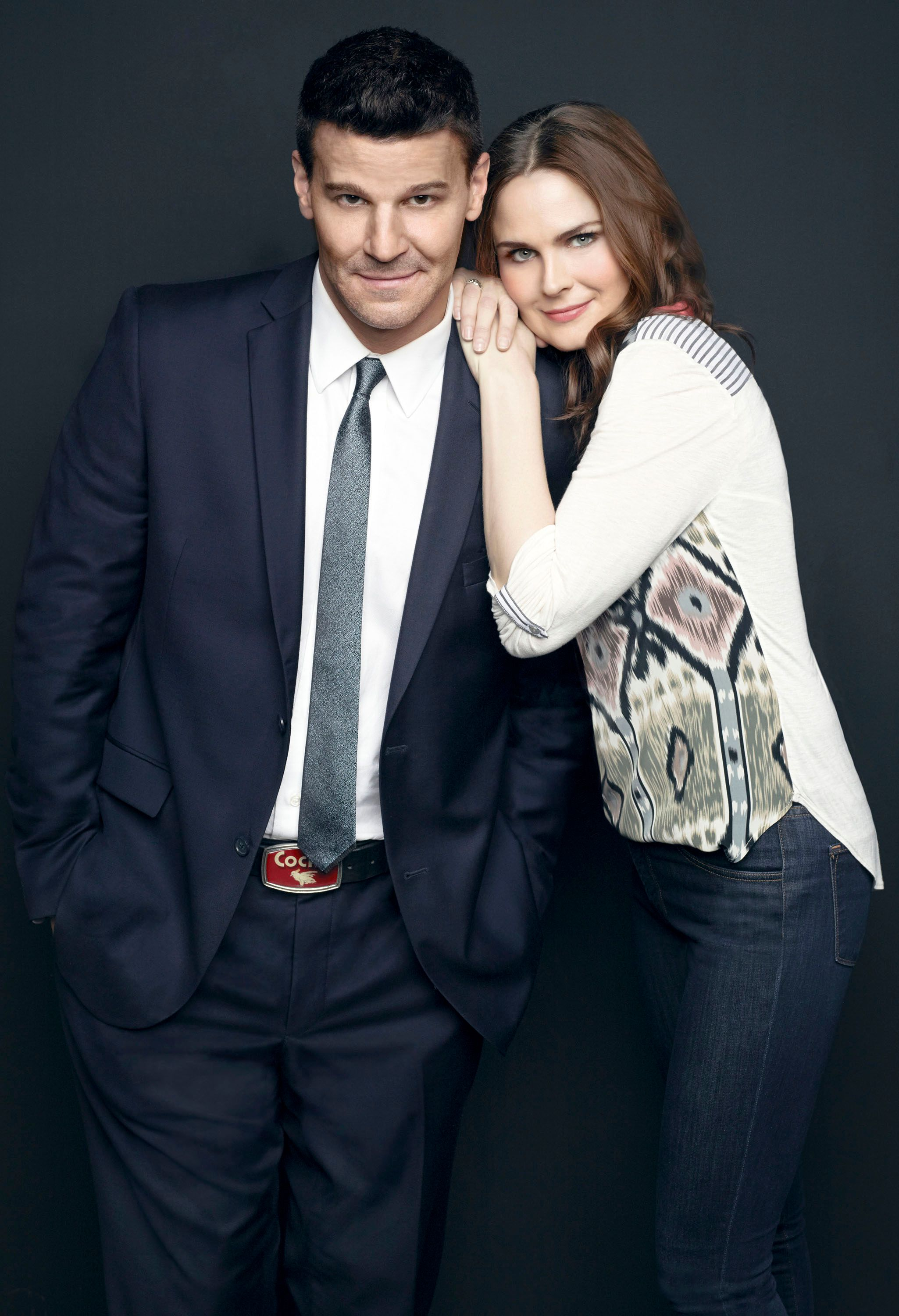 David Boreanaz and Emily Deschanel Talk BONES Season 9 ...
