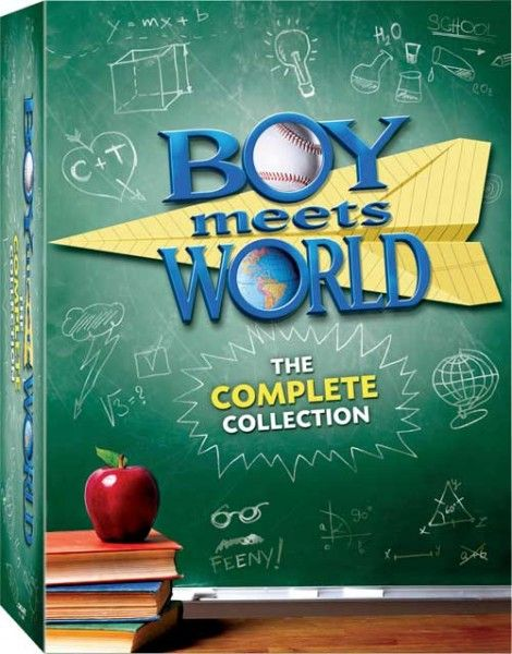 boy meets world dvd cover