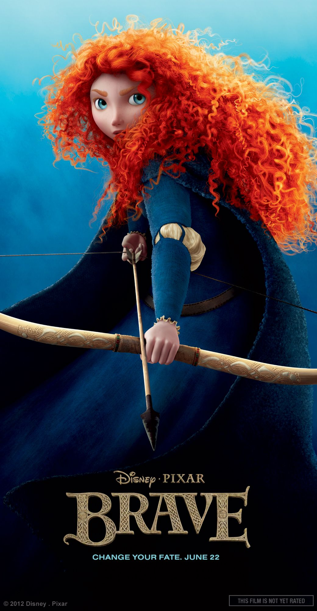 Merida As A Princess Brave Poster Princess Merida