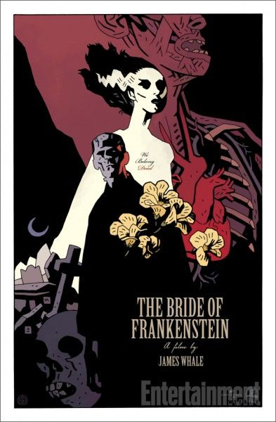 bride-of-frankenstein-poster-mike-mignola