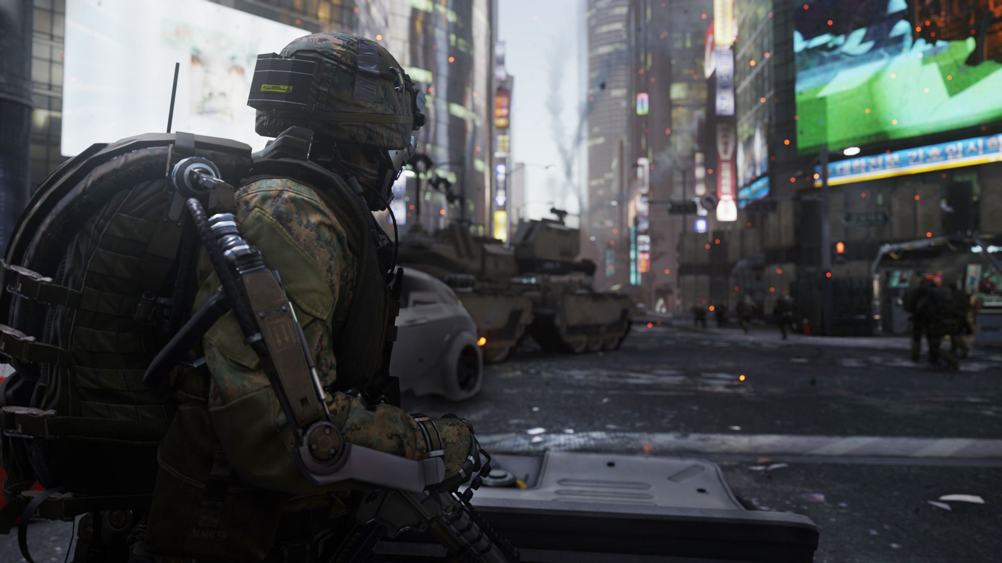 "CALL OF DUTY: ADVANCED WARFARE Trailer: ""Induction ..."