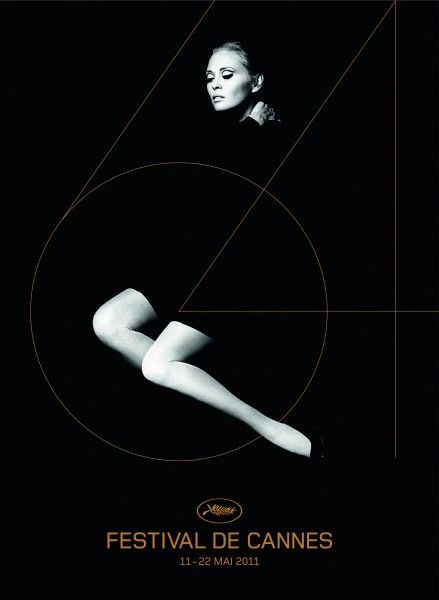 Poster for Cannes Film Festival 2011