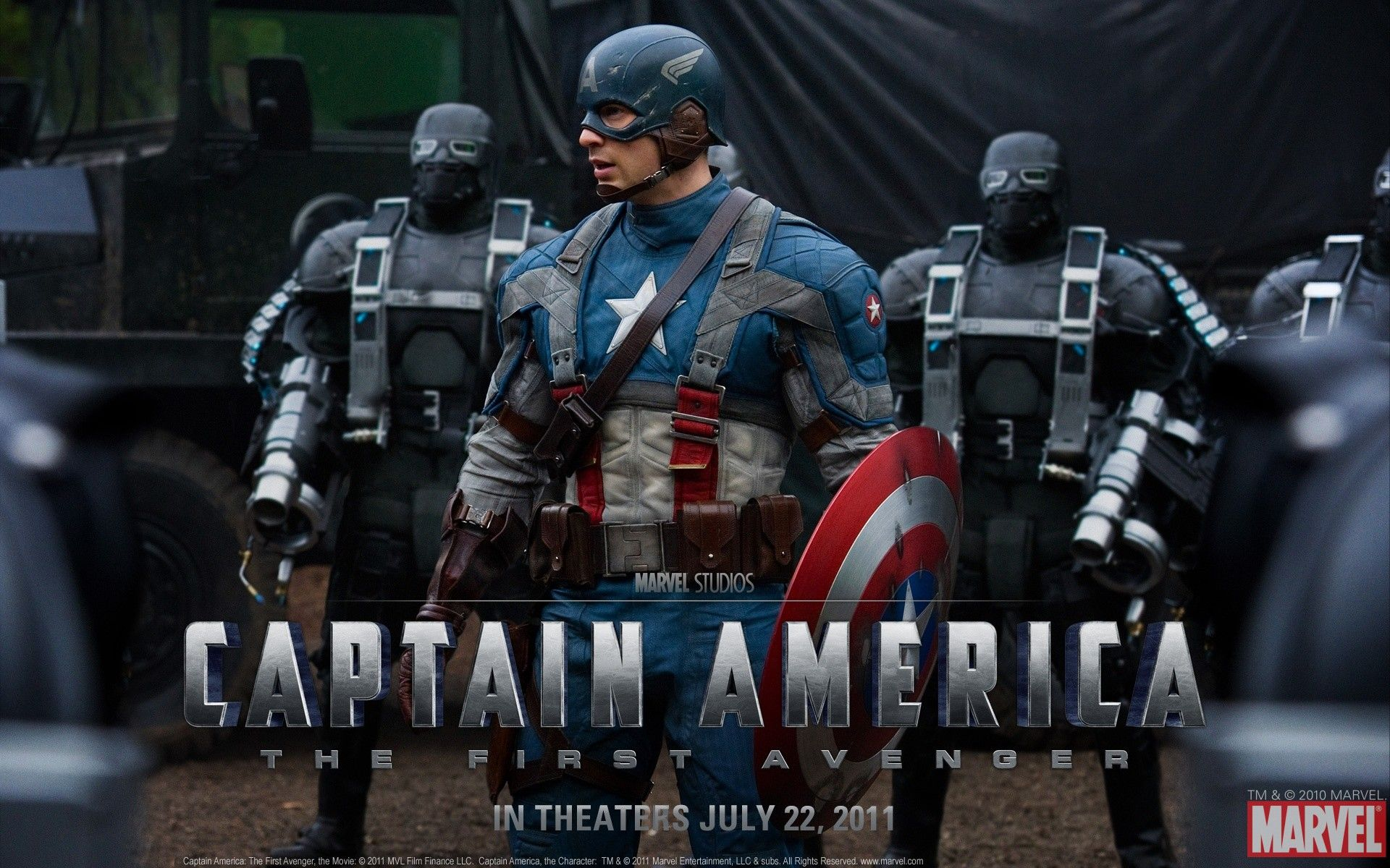 Captain America The First Avenger Wallpaper 01