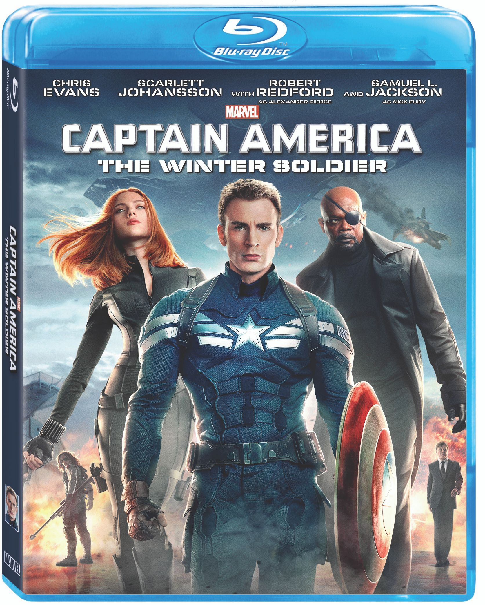 CAPTAIN AMERICA: THE WINTER SOLDIER Blu-ray Trailer