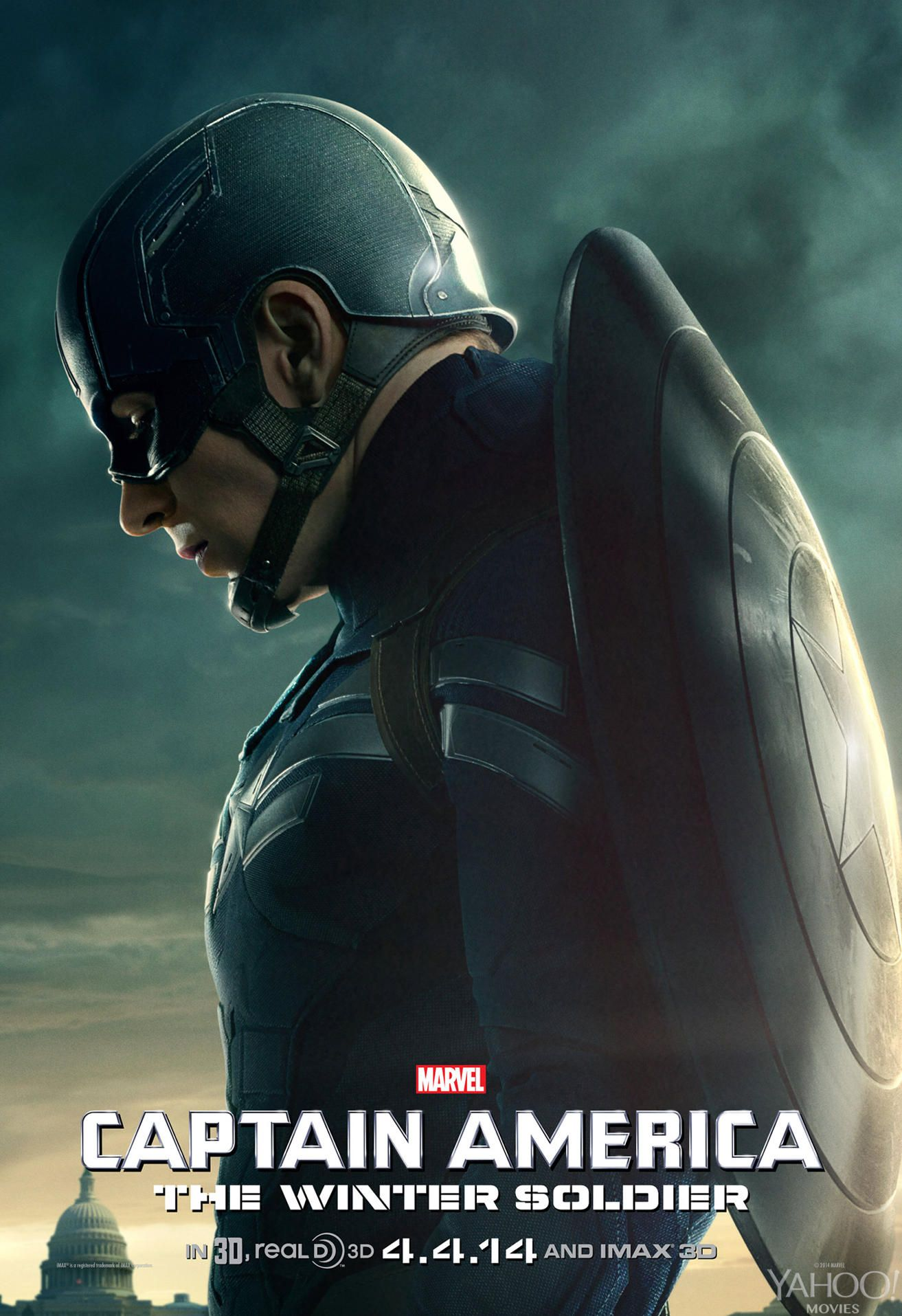CAPTAIN AMERICA: THE WINTER SOLDIER Posters   Collider