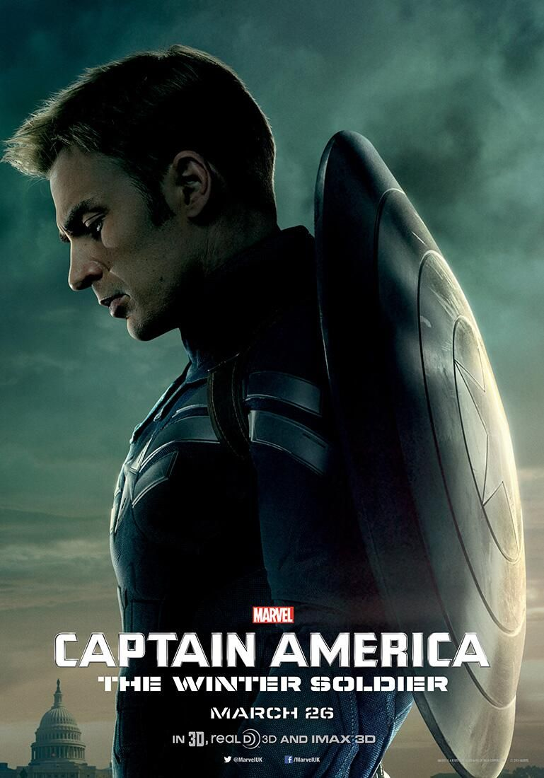 captain america the winter soldier posters collider