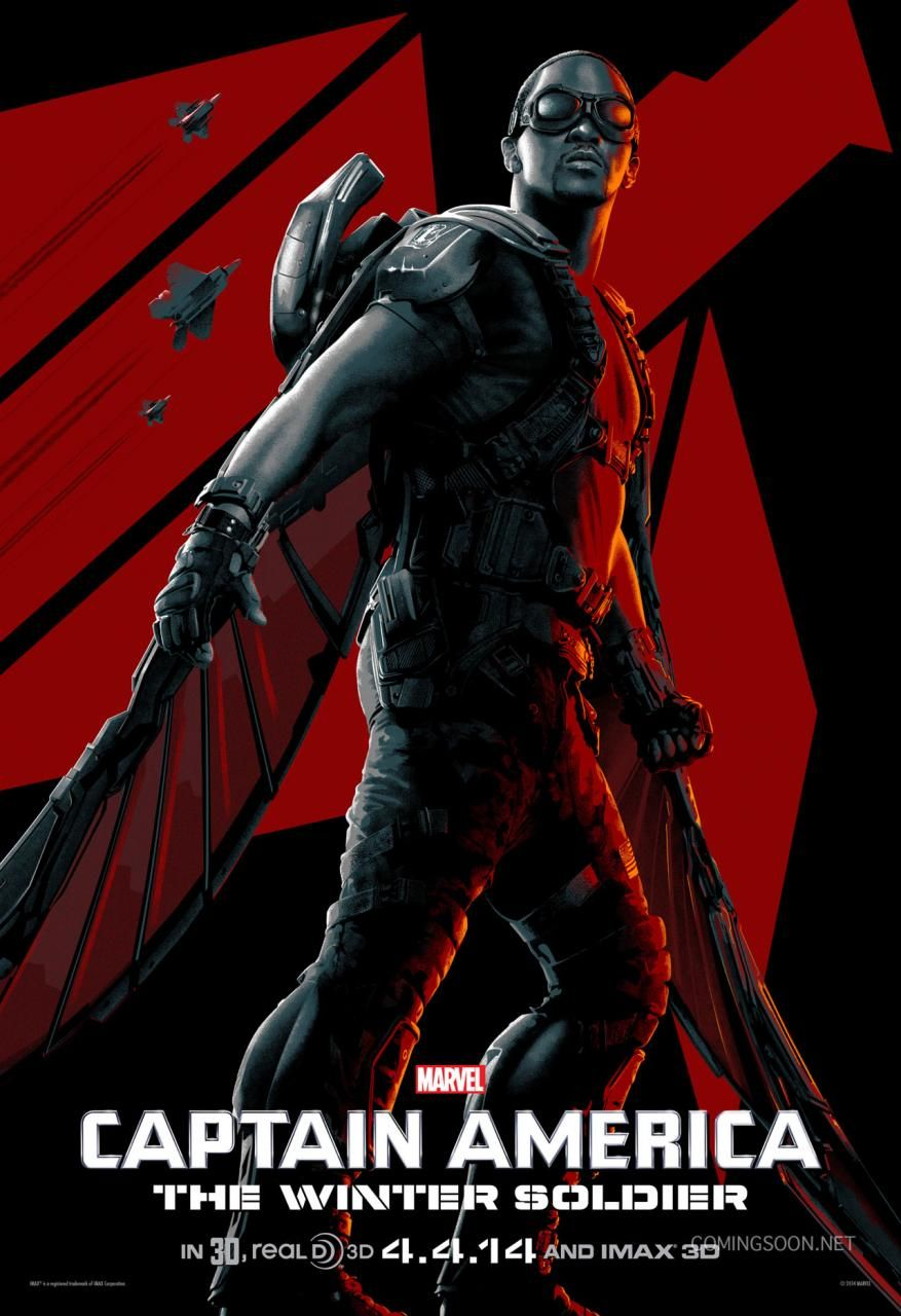 CAPTAIN AMERICA: THE WINTER SOLDIER Featurette and Posters ...