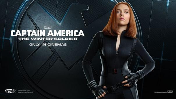 Scarlett Johansson Winter Soldier Wallpaper