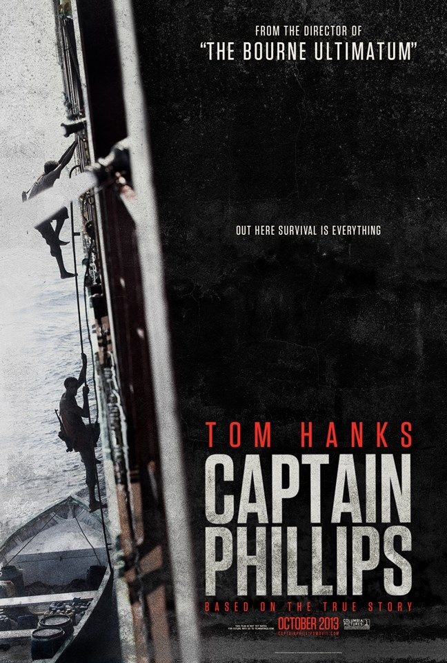 CAPTAIN PHILLIPS Posters. CAPTAIN PHILLIPS Stars Tom Hanks ...